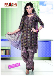 Indian Salwar Kameez Suit Designer Party cotton  Dress 163