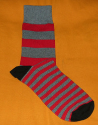 AOV /MN/ST/25 Men Stripe Socks