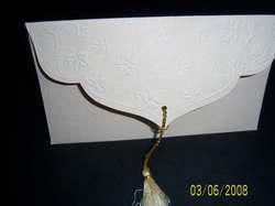 Handmade Paper Envelope with Self Embossing