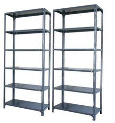 M.S. Steel Slotted Angel Steel Rack.