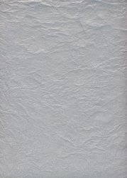 Silver Metallic Handmade Paper For Greeting Cards