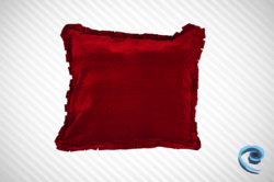 Cushions Covers - Cushion Cover With Cream And Red Half And Half ...