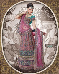 Shisha Designer Lehenga