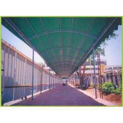Walk Way Fabric Structure