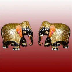 Decorative Elephants Pair