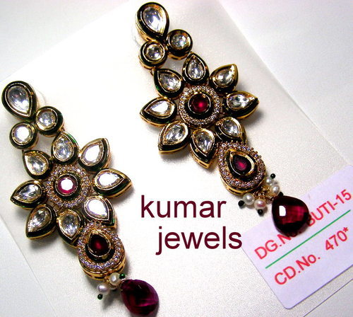Artificial Kundan Earrings