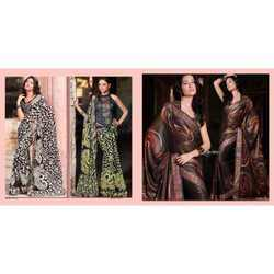 Colored Party Wear Sarees