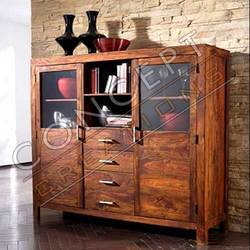 Sheesham Wood Door Cabinets