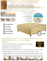Luxury Line:Gold Mattress