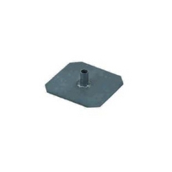 Lead Square Earth Plate With Lead Pipe