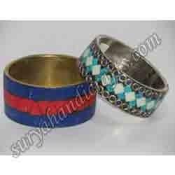 stone beaded bangles