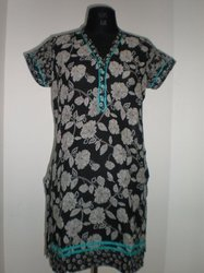 Cotton Prints Kurties