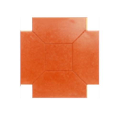 Chequered Cement Floor Tiles