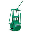 Manual Operated Concrete Block Making Machine