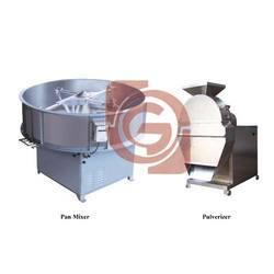 Semi Automatic Detergent Powder Plant
