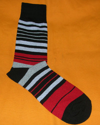 AOV /MN/ST/22 Men Stripe Socks