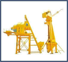 Boom Scrapper Batching Plant