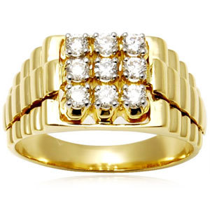 Wedding and Engagement, Men Gold Ring