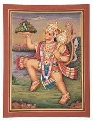 God Hanuman Painting