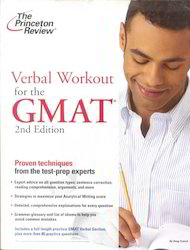 The Princeton Review Verbal Workout Book For The GMAT