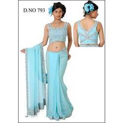 Printed Party Wear Sarees