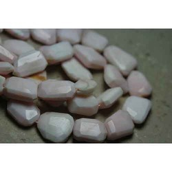 Pink Opal Faceted Nuggets
