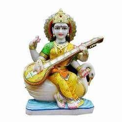 Saraswati+Devi+Statue