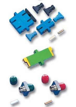 Optic Fiber Adapters & Fiber Connectors