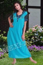 Cotton Embroidered Nighties