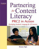 Partnering For Content Literacy PRC2 In Action