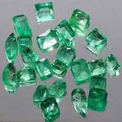 Natural Zambian Columbian Emerald Gemstones