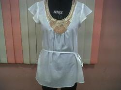 Metal Embroidery Top.
