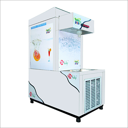 Soda Shop Machine YVEC-7(6 1) Double Chiller