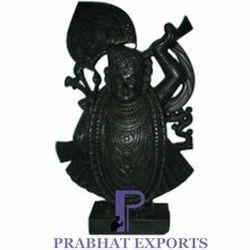 Srinath Ji StatueBlack Marble Srinath Ji Statue