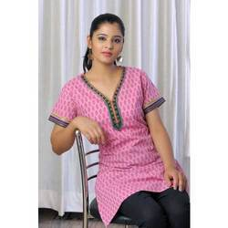 Stylish V Shape Kneck Kurta