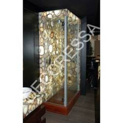 Yellow Agate Shower