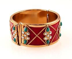 Majestic Gold Plated Bangle