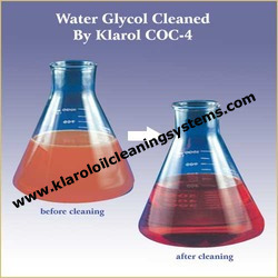 Water Glycol Cleaned by Klarol COC-4.