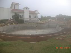 Swimming pool in Farms
