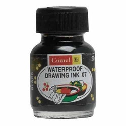 Colored Black Waterproof Inks
