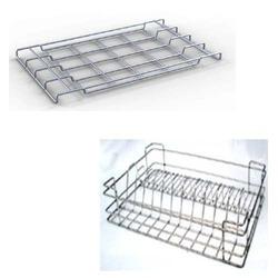 Lovely Wire Cutlery Basket