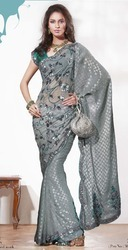 Latest Embroidery Sarees