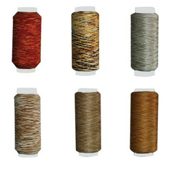 mix yarn zari thread