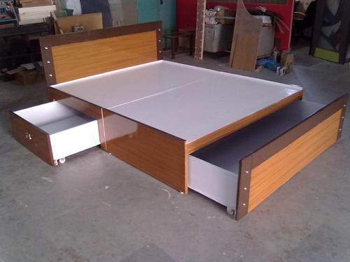 Storage Bed Shree Sharda Furniture Manufacturer In Sitaram Estate Ahmedabad Id 3257274173