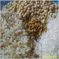 Rice, Wheat And Pulses