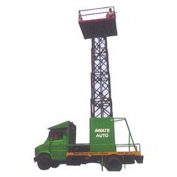 Tree Cutting (Vertical Type Aerial Lift)