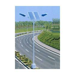 GI Painted Solar Street Light Poles