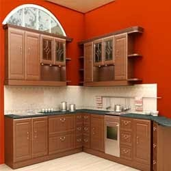 Wooden Modular Kitchen