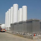 Liquefied Co2, Oxygen, Nitrogen, Argon Bulk Storage Tanks