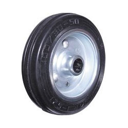 Black Rubber Caster Wheel